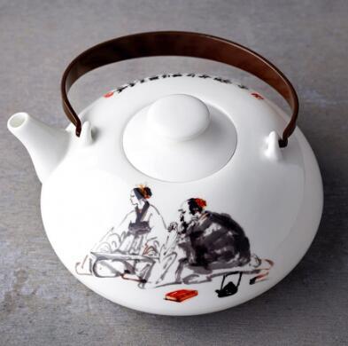 玉泉窖系列 高档骨瓷茶壶