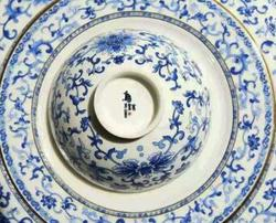 """""""盛世如意""""青花珐琅彩陶瓷餐具"""