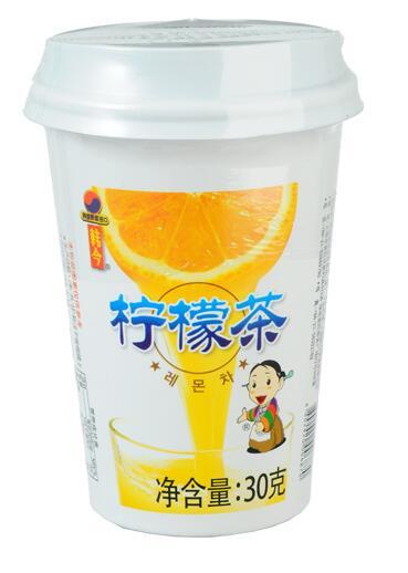 韩今杯装蜂蜜柠檬茶
