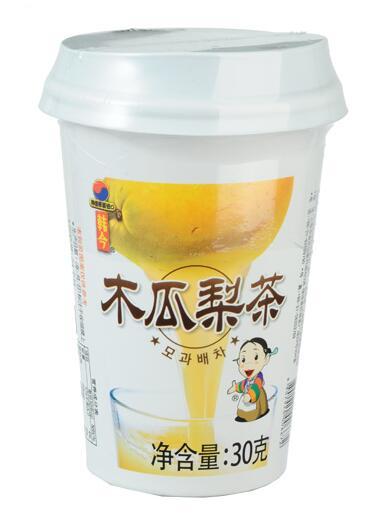 韩今杯装蜂蜜木瓜茶