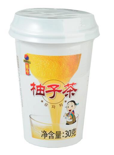 韩今杯装蜂蜜柚子茶