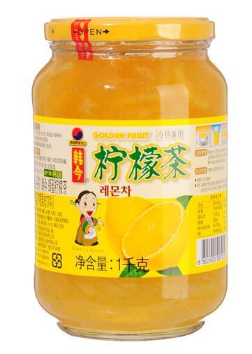 韩今蜂蜜柠檬茶