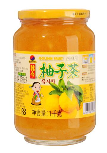 韩今蜂蜜柚子茶