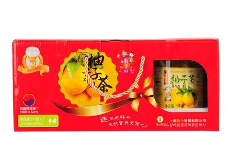 韩今蜂蜜柚子茶礼盒