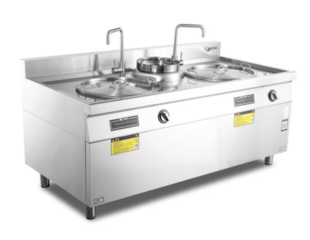 双头单尾煮面炉-D900