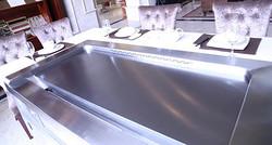 创绿巨轮长方形铁板烧设备