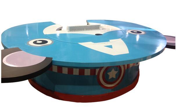 创绿巨轮新概念铁板烧-美国队长