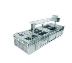西餐豪华炉整体冲压面板