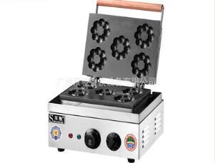 五孔梅花型甜甜圈机