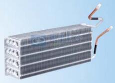 三排斜插式全铝换热器