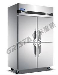 QZ1.0L4 B款四门双温高身冷柜