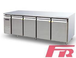 星级型四门工作台冷柜