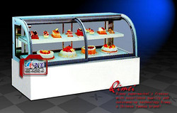 12DP-A 圆弧前移门蛋糕柜
