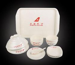 上海航空 餐具