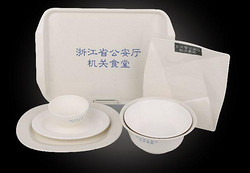 浙江省公安厅机关食堂 餐具