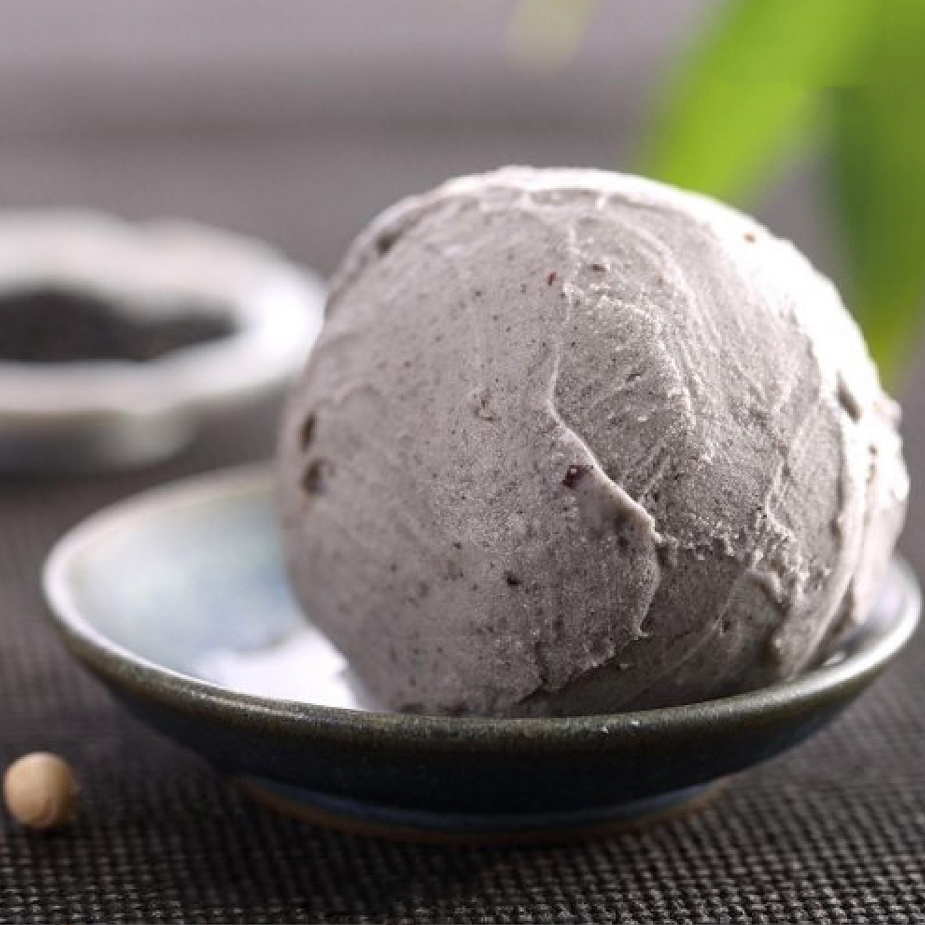 冰激凌系列  黑芝麻冰激凌