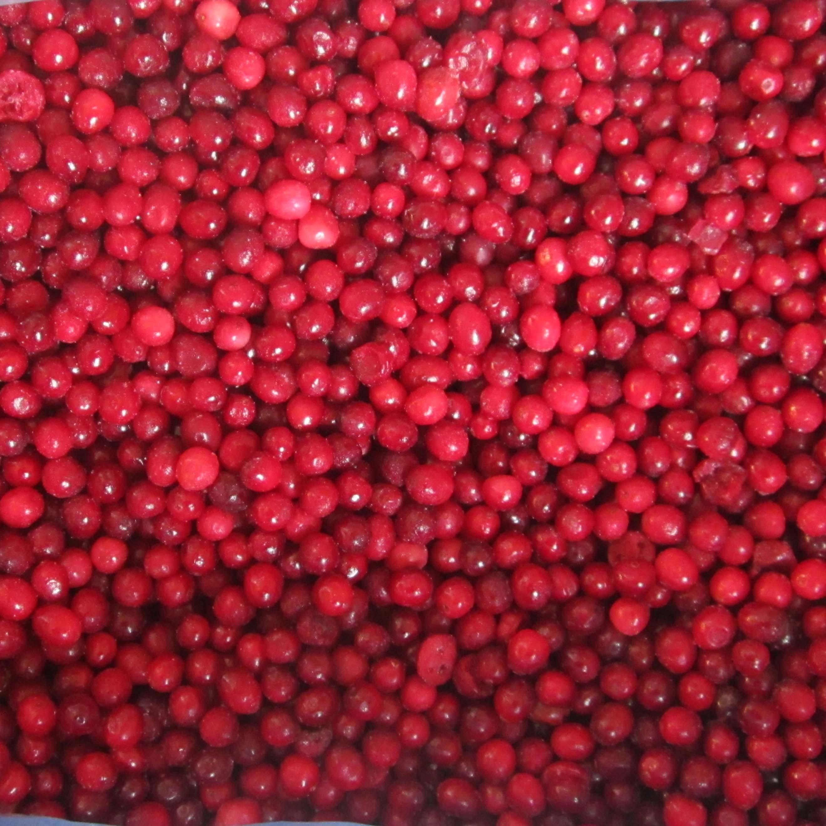 冷冻蔓越莓