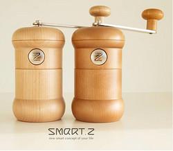 SMART.Z極致曲線實木磨豆機-啞鈴款