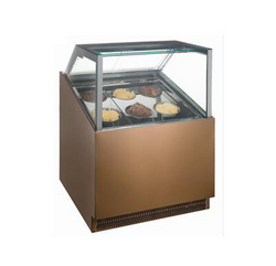 落地式直角冰淇淋柜