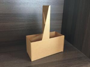 鑫麦佳烘焙纸盒 瓦楞二联杯托