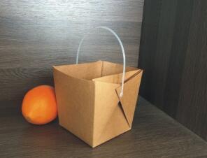 鑫麦佳烘焙纸盒 手提牛皮纸盒