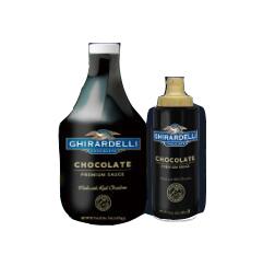 黑巧克力淋酱