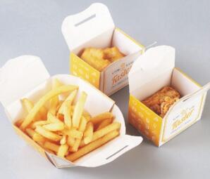 鑫麦佳烘焙纸盒  鸡柳盒