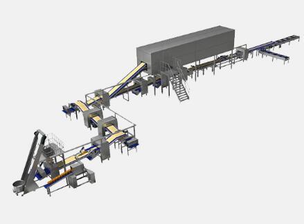 U-1608型 全自动起酥生产线