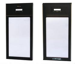 电加热酒柜玻璃门