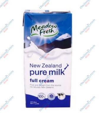 【纽麦福全脂纯牛奶】新西兰进口全脂纯牛奶 早餐纯牛奶 1L