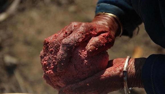 【烹饪食材】春节风味:湘南人家都会做的猪血丸子