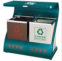 分类环保垃圾桶