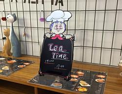 彩色小厨师黑板