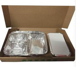 B-3款 高档锡纸外卖套餐盒