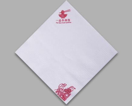 400白色定制餐巾纸