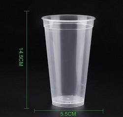 高脚90口径500ml 注塑杯