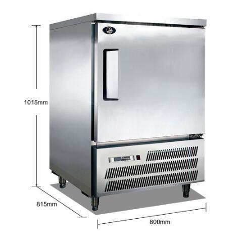 5盘速冻柜
