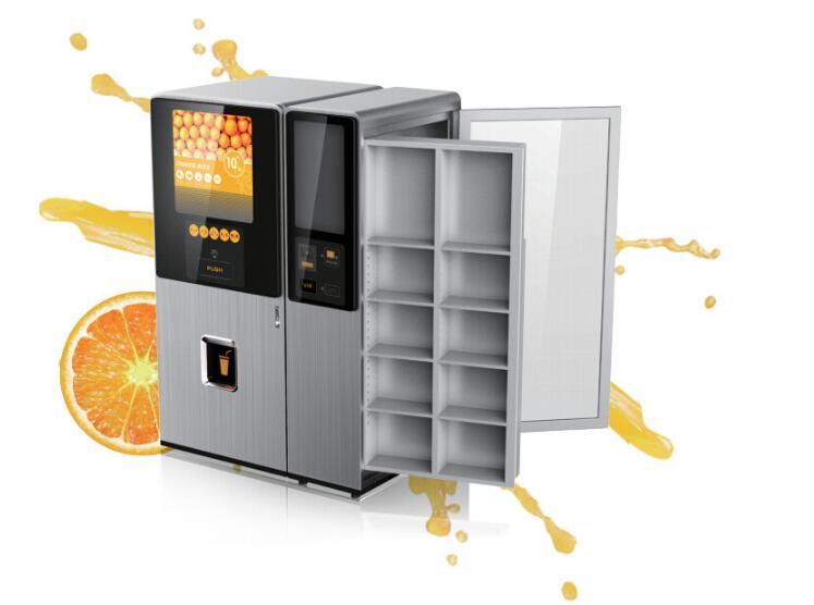 智能橙汁售卖机