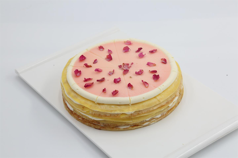 迈谷maigu荔枝玫瑰千层蛋糕