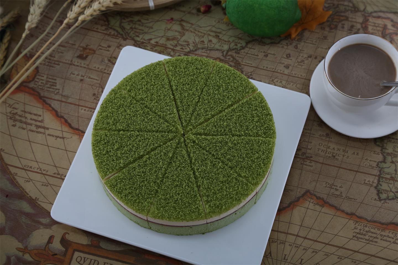 迈谷maigu抹茶树莓蛋糕