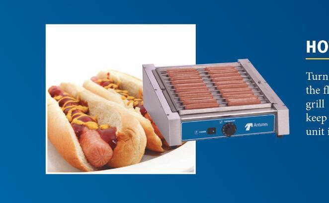 hot dog grills