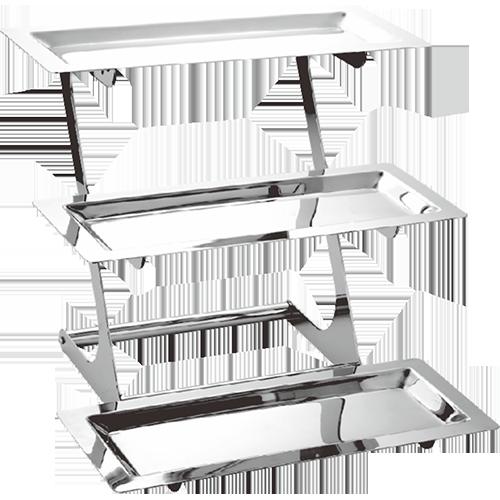 (拆装式)三层不锈钢搁架
