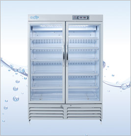 YCP-650双门药品冷藏柜