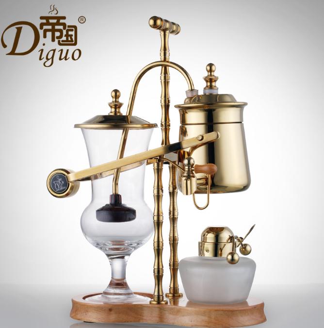 帝国金色 比利时咖啡壶