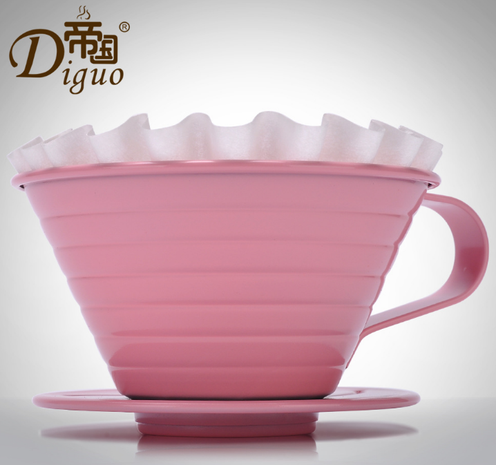 帝国DG-196不锈钢咖啡滤杯