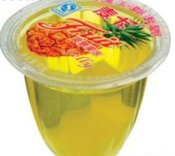 麦卡菠萝果肉果冻