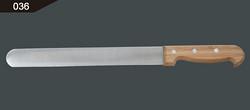 竹柄细齿火腿切片切 fine serration ham slicer/bamboo handle
