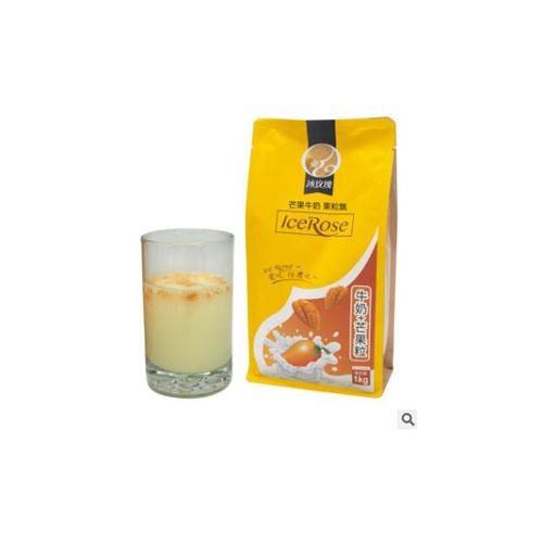 芒果牛奶果粒飘