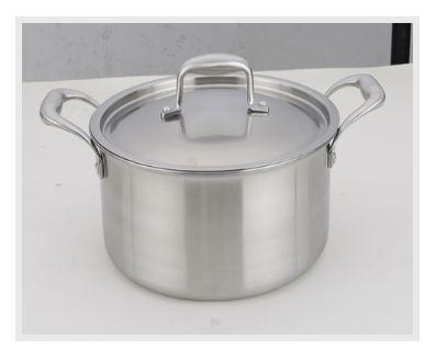 三层钢汤锅