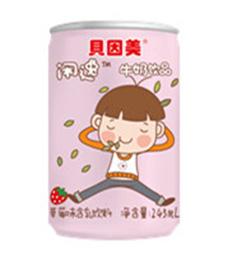 闲逸牛奶饮品草莓味含乳饮料245mL